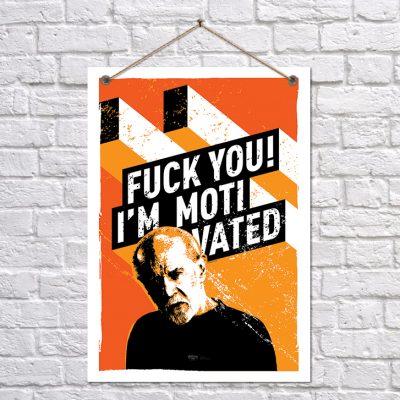 Постер «Я достаточно мотивирован!»