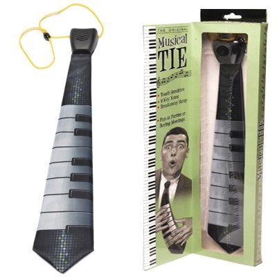 Музыкальный аксессуар – галстук-пианино