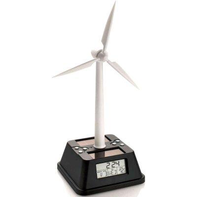Настольные эко-часы «Ветряная мельница»