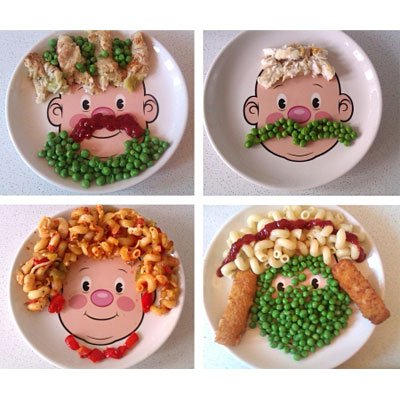 Тарелка «Food Face» Invotis