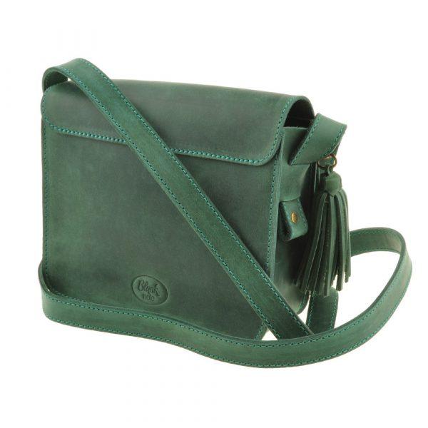 Бохо-сумка «Лилу» Blanknote (изумруд)
