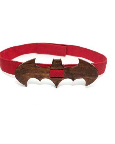 Деревянный галстук-бабочка «Бэтмен» Bow tie decor