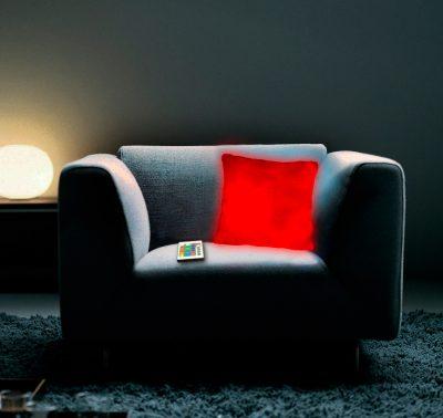 Лунная подушка с пультом ДУ Thumbs Up