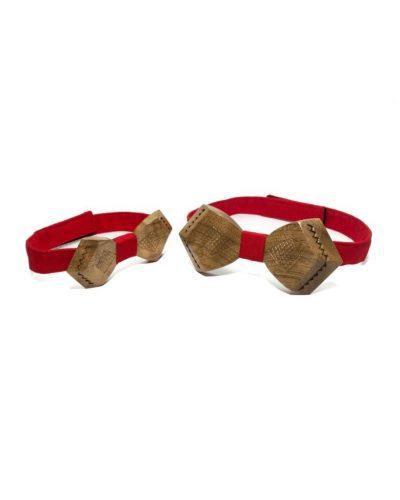 Оригинальный набор: деревянные бабочки для сына и отца от бренда Bow tie decor