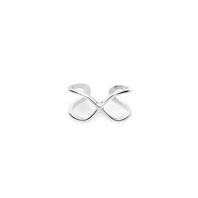 Кольцо на фалангу из серебра Free (Size 4)