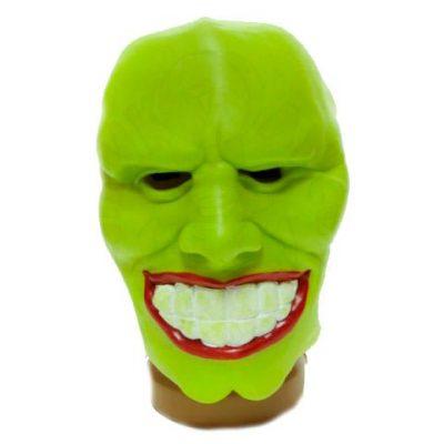 Латексная маска персонажа из кинофильма «Маска»