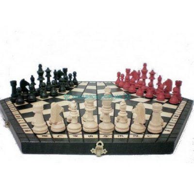 Оригинальные тройные шахматы Madon