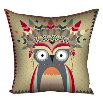 Подушка «Сова-индеец»