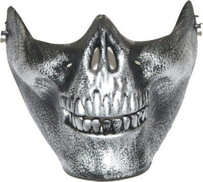 Полумаска «Смерть» (серебро)