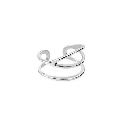 Серебряное кольцо на фалангу Free (Size 1)