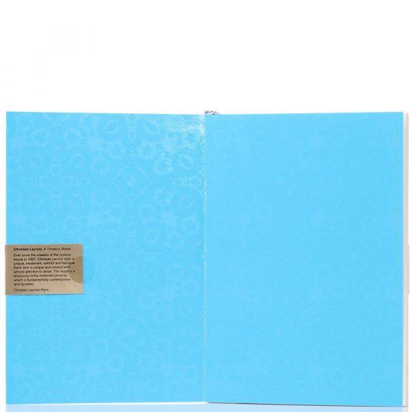 Блокнот Christian Lacroix «Ombre Paseo Neon» A5 голубой