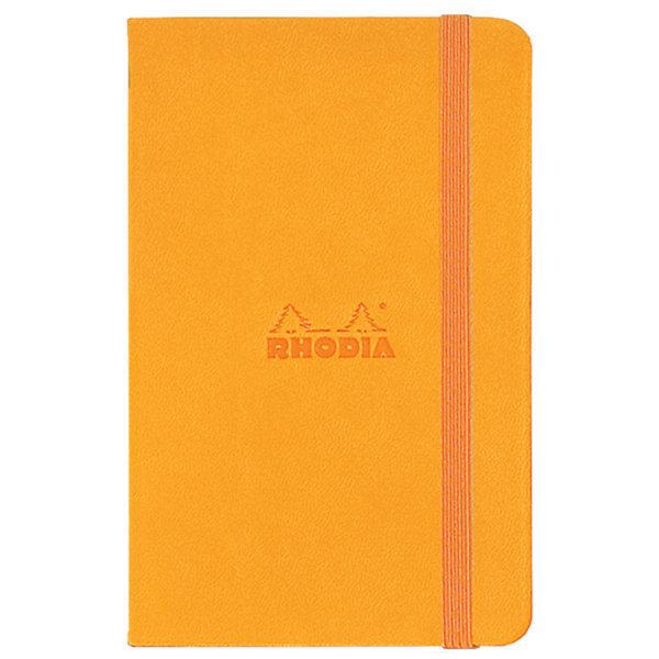 Блокнот Rhodia «Rhodiarama» (оранжевый, А5, чистые листы)