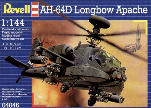 Боевой вертолет «Longbow Apache AH-64D» Revell