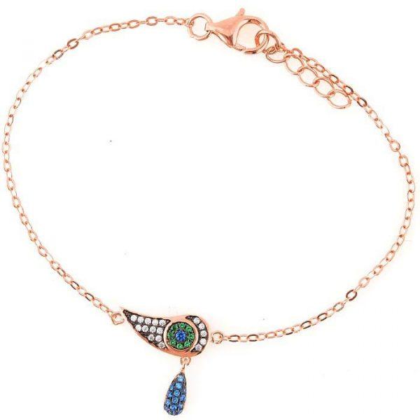Браслет Armadoro Jewelry с кулоном в виде глаза