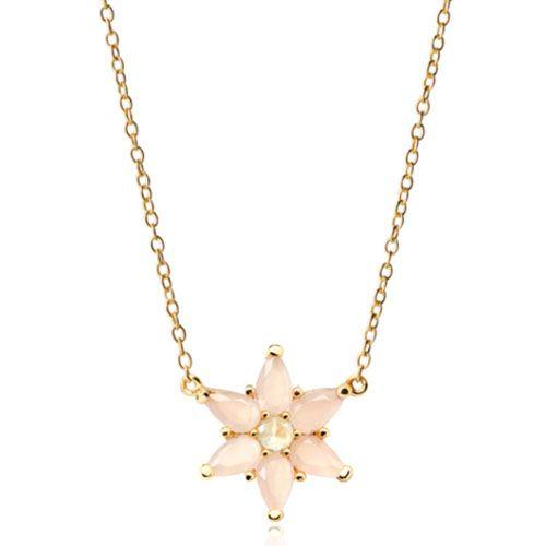 Цепочка Aran Jewels с кулоном в форме цветка