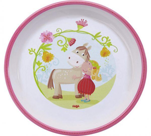 Детская тарелка Haba «Мой пони»