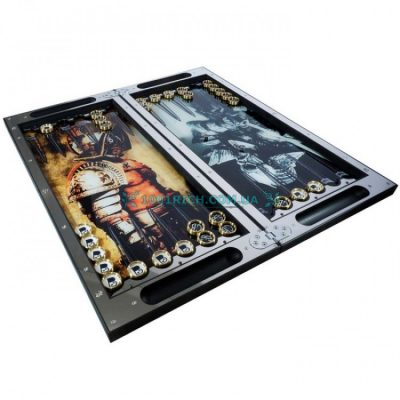 Эксклюзивные металлические нарды «Рыцарь-Демон»