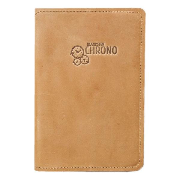 Ежедневник Blankster «Chrono» (желтый)