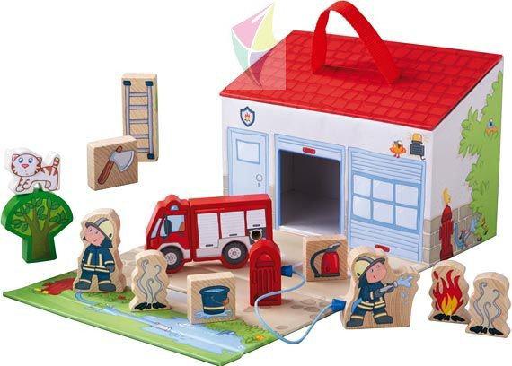 Игровой набор Haba «Пожарная станция»