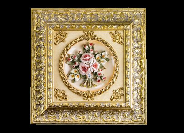 Картина на фарфоре «Цветы» Artecasa