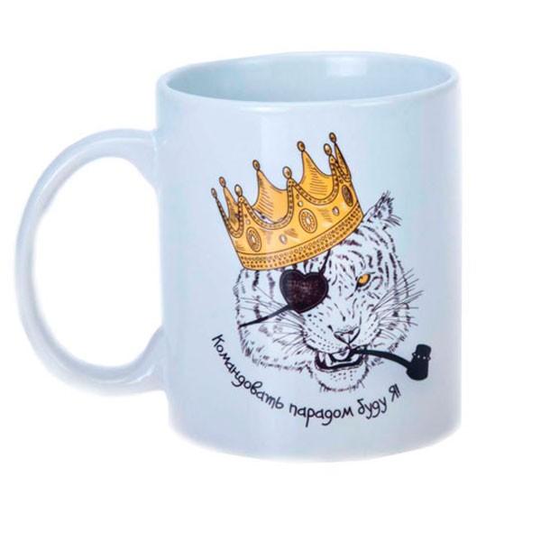 Керамическая чашка «Командир»