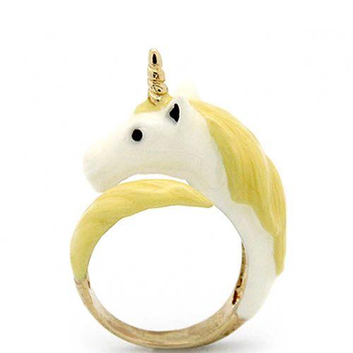Кольцо Good After Nine «Желтый пони»