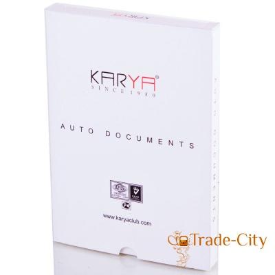 Кожаная обложка для водительских прав KARYA