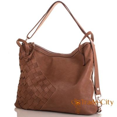 Кожаная женская сумка LILOCA (ЛИЛОКА)
