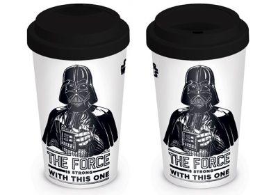 Кружка для путешествий «Star Wars (The Force Is Strong) Travel Mug» Pyramid International