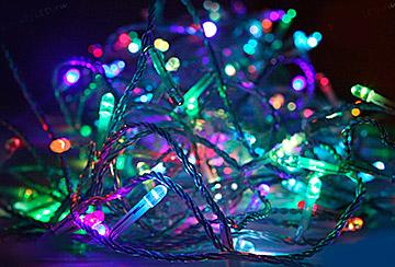 LED-гирлянда на 500 ламп «Мультиколор»