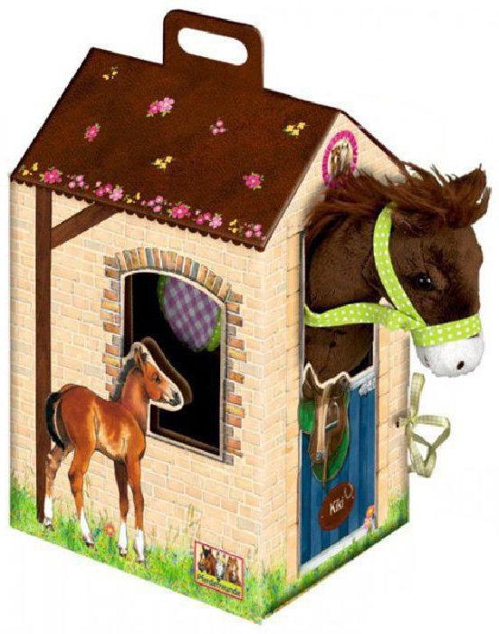 Лошадка Кики в домике Spiegelburg