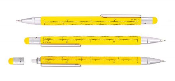 Механический карандаш «Construction graphite» Troika с линейкой и стилусом