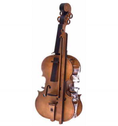 Мини-бар «Скрипка с рюмками»