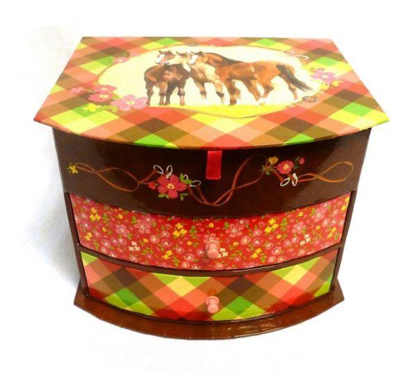 Мини-комод с ящиками Spiegelburg «Друзья лошадей»