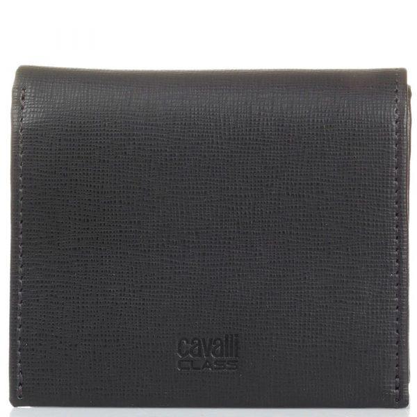 Мини-портмоне Cavalli Class «Astoria» темно-коричневого цвета с сафьяновой отделкой