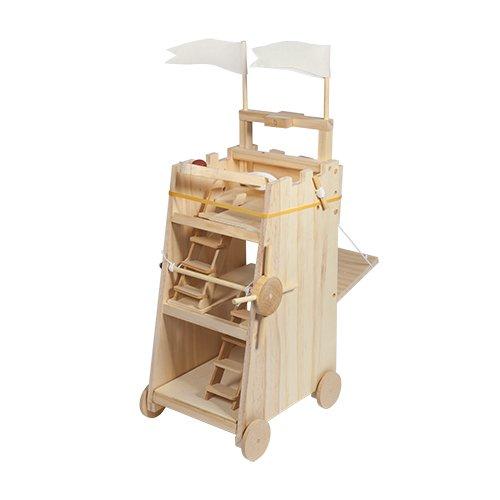 Модель средневековой многофункциональной машины «Осада башни» Thumbsup