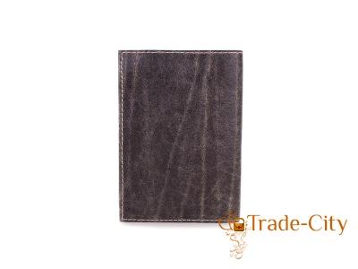 Мужская кожаная обложка для паспорта от Елены Юдкевич UNIQUE U