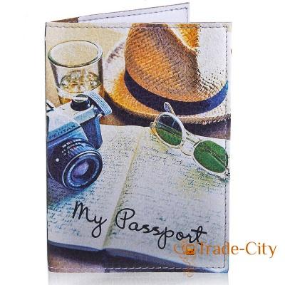 Мужская обложка для паспорта PASSPORTY