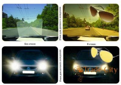 Мужские очки для водителей в гибкой оправе с поляризационными линзами AUTOENJOY