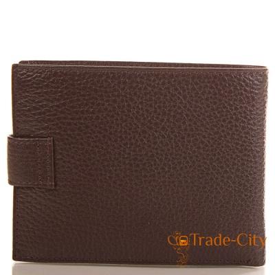 Мужской кожаный кошелек CANPELLINI (коричневый)