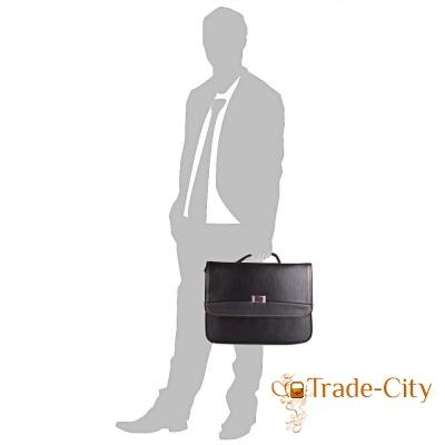 Мужской портфель из качественного кожзаменителя BONIS