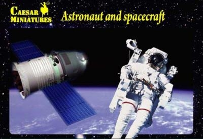 Набор для моделирования: космонавты и космический аппарат ТМ Caesar