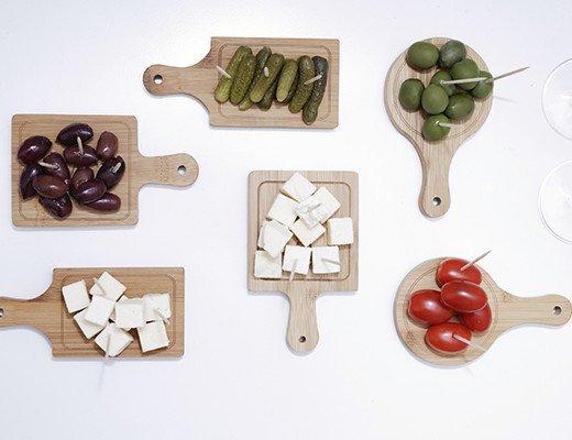 Набор кулинарных мини-досок Kikkerland (6 шт)