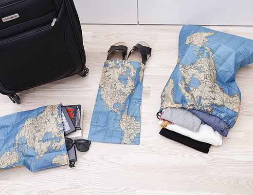 Набор мешков для белья «Travel» Kikkerland 4 шт.