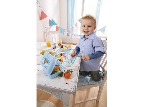 Набор столовых приборов для детей Haba «Гонщик»