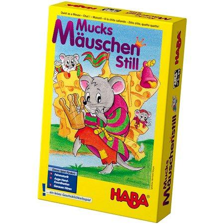 Настольная игра Haba «Тихонько, как мышка»