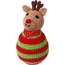 Неваляшка «Мой малыш Рождественский олень» Spiegelburg