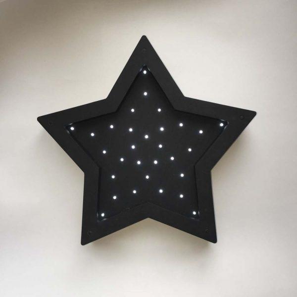 Ночник из дерева «Звезда»