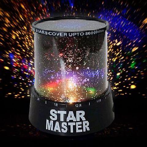 Ночник проектор звездного неба «Star Master»