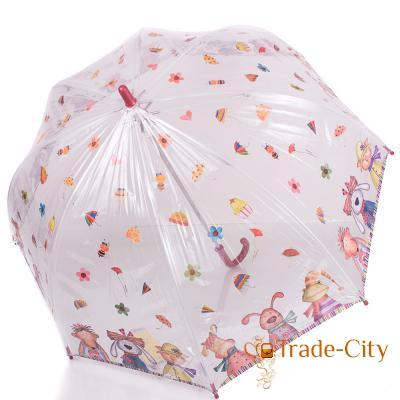 Облегченный детский зонт-трость ZEST (ЗЕСТ) (механика)